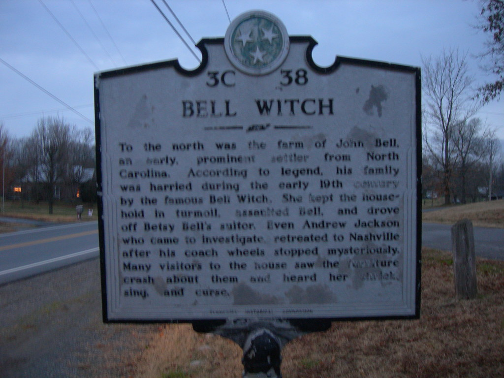 Bell Witch Historic Marker