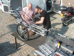 opbouw / construction N55 - Space Frame Vehicles   pit