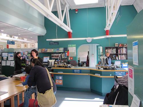 Lyttelton  Library visit