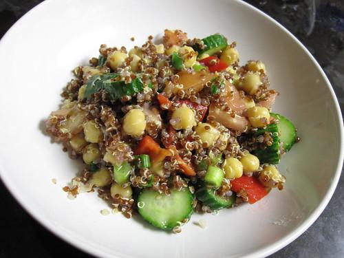 Red Quinoa salad | by comicpie