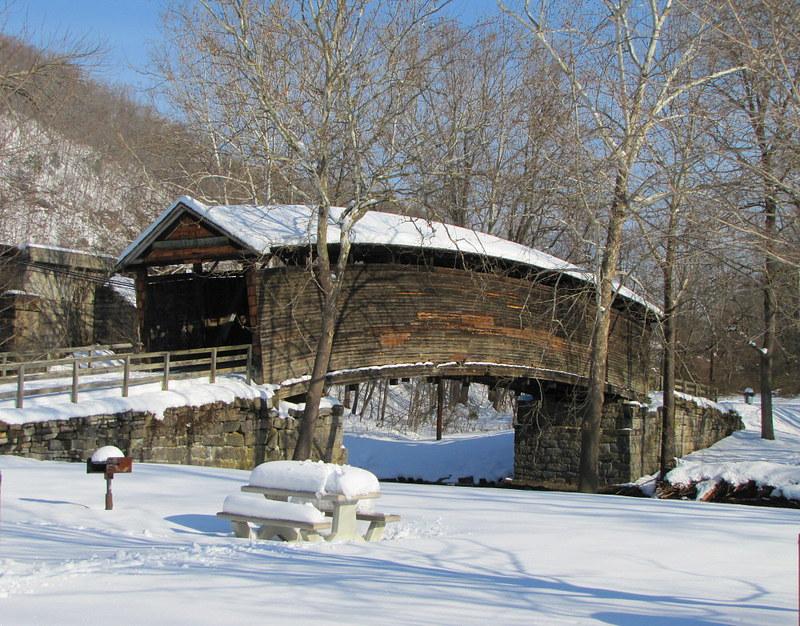 Wintertime at Humpback Bridge