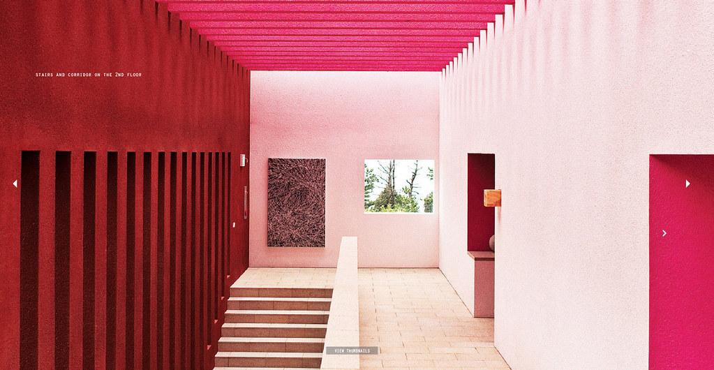 ... Ricardo Legorreta / The Gallery Casa Del Agua   by Cooky Yoon