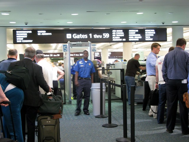 airport security at its worse