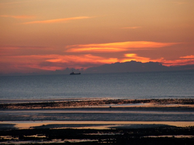 Solway Sunset from Flimby