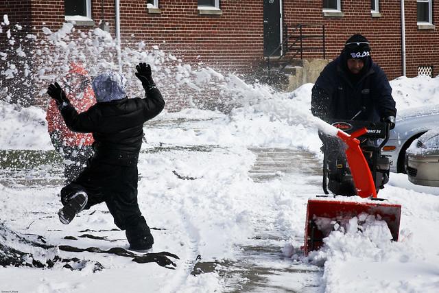 Snow Sprinkler! - 57/365 - 02/26/10
