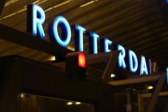 Rotterdam Blaak sign