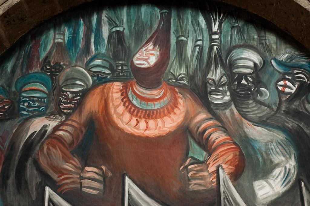 Hombre Del Fuego Por Jose Clemente Orozco Corin Royal Drummond
