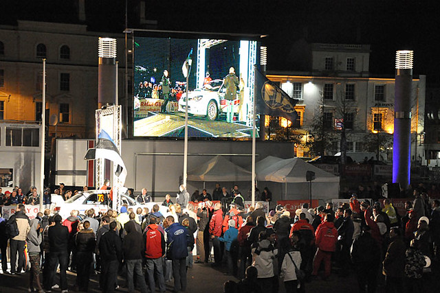 Rally GB start 11