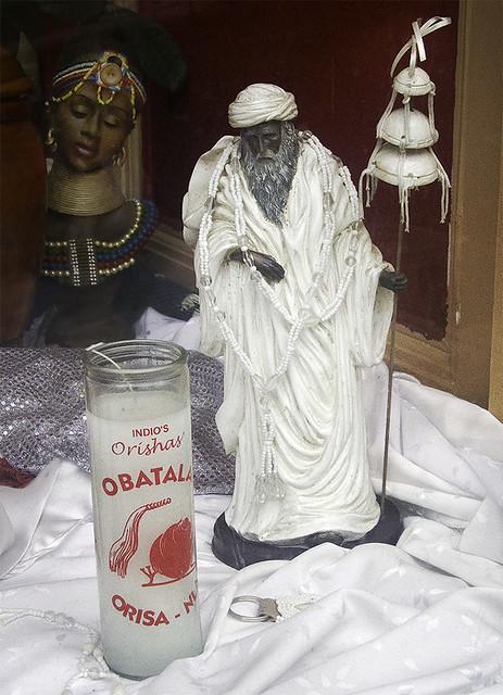 Indio's Orishas Obatala | Found at Lucky Candles Botanica in