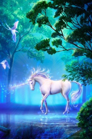 Unicorn depiction