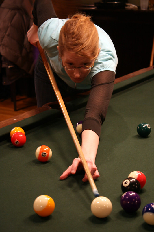 Faces of pool: Antje