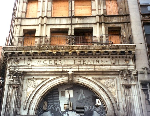 Boston Massachuetts ~ Modern Theatre ~ Photo 2003 ~ Closed & Demolished