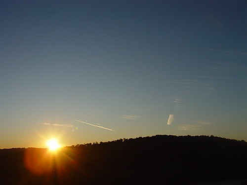 blue autumn sunset sky sun fall nature landscape evening tn tennessee east hills rex easttennessee brittain rexbrittain rabrittain highway58 rarityridge