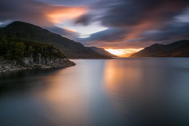 Big Loch Sunset.