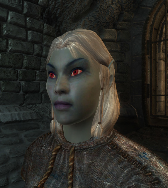 Oblivion Dark Elf female face | Flickr