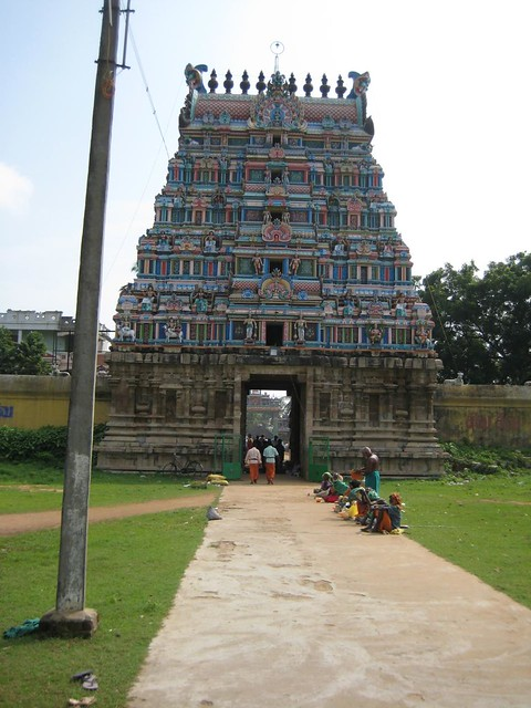 44.Rajagopuram (from inside the temple)