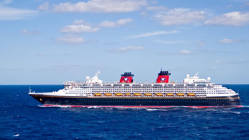 Disney Magic passing by