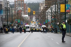Robson Street Protests