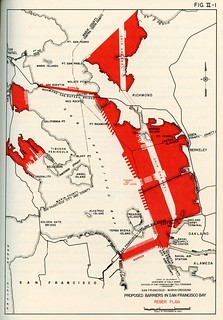 Proposed Barriers in San Francisco Bay: Reber Plan (1942)   by Eric Fischer