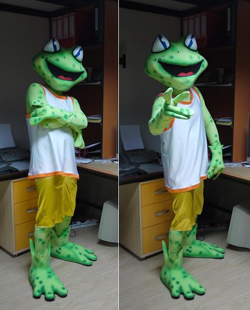 Maskota žaba :: Frog Mascot