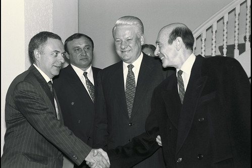1993, Visit to NATO by Boris Yeltsin