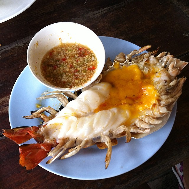 The famous Giant River Prawn from Ayutthaya  This prawn wi