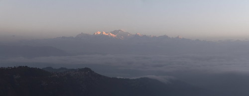 morning cloud india mountain montagne sunrise landscape peak pic summit himalaya nuage paysage range darjeeling inde matin massif sommet kangchenjunga