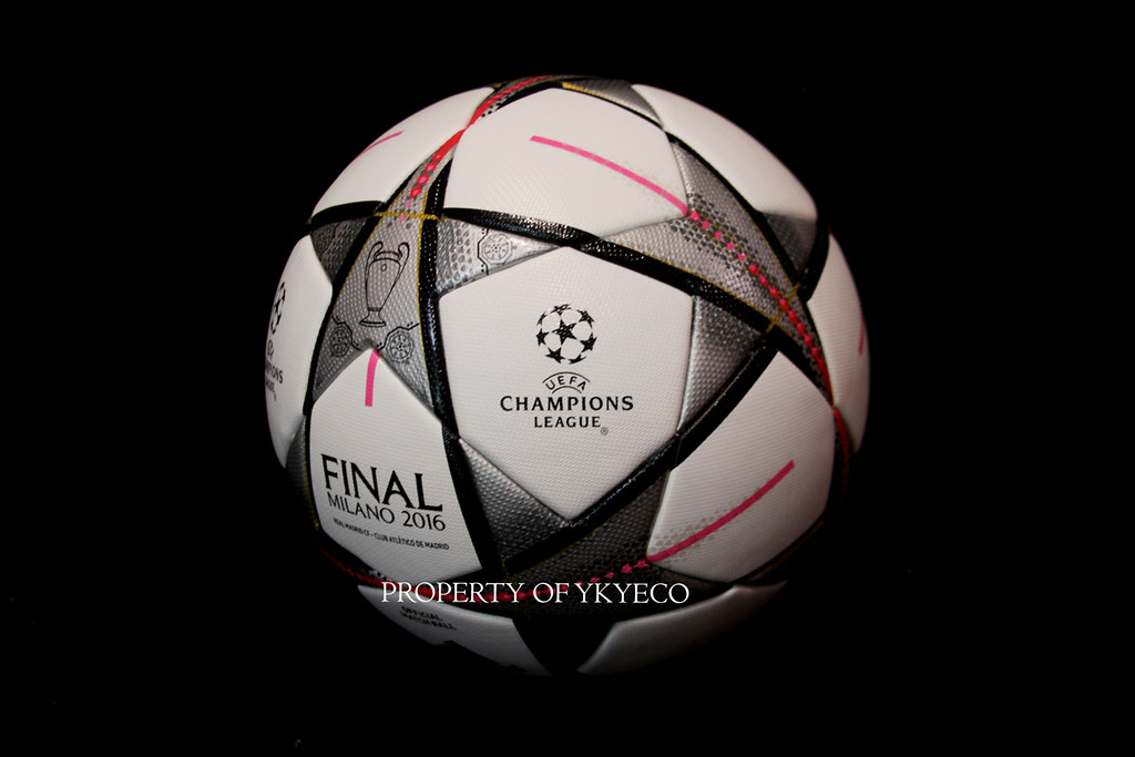 dual artery Charles Keasing  UEFA CHAMPIONS LEAGUE 2015-16 FINAL MILANO 2016 MATCH USED ADIDAS BALL,  REAL MADRIC CF VS CLUB ATLETICO DE MADRID 04 - a photo on Flickriver