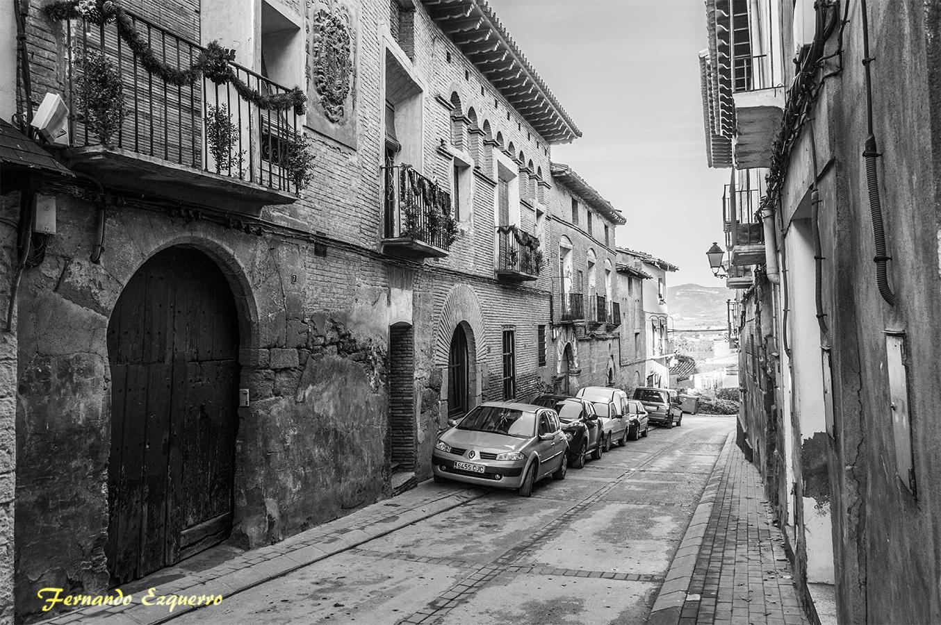 Calle Mayor de Bolea