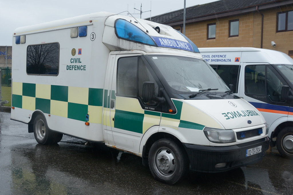 Waterford Civil Defence 2002 Ford Transit Wilker Voyager A
