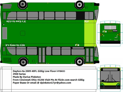 Dayton RTA new Gillig Brt low floor HYBRID 2009   Darius