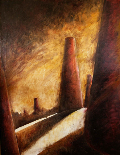 Tower of Song Oil Painting