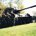TACPs Byron Bailey  Army track driver PFC Nick Byse   TACP ShiyBird  Steve King and Brian Cox  Germany 1994 a