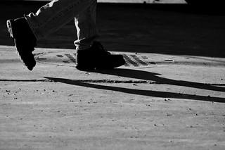 Lower Legs of Walking Man | by Maxwell GS