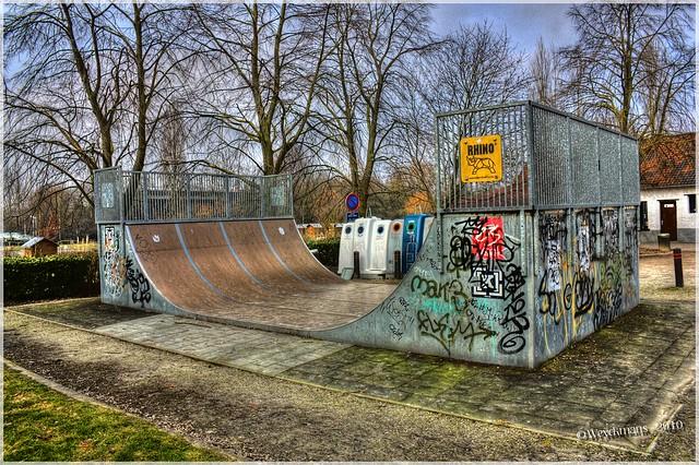 Urban Trash Ramp