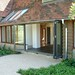 Tiled Lean-to with bi Fold doors