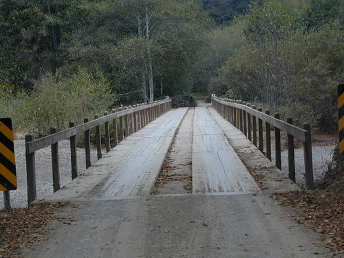 One Lane Bridge @ Lost Coast