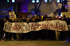 No War on Afghanistan - Protest in Downtown Minneapolis | by Tony Webster