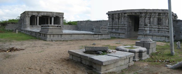 Outer Entrance (from inside the temple)