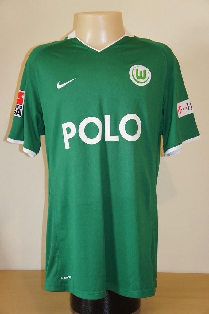 low priced c3d96 21e3f VfL Wolfsburg – 2008/2009 home shirt (match worn)   Shirt wo ...