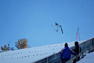 Ski Jumping in Michigan | Ski jumping at Pine Mountain  Iron… | Flickr