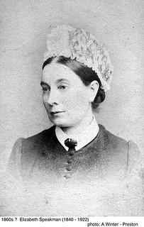 Elizabeth Speakman 1860? (1840-1922)