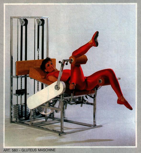 Gynecological glutes machine