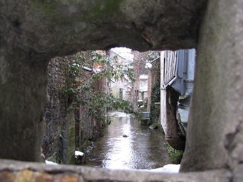 Pont-Audemer sous la neige