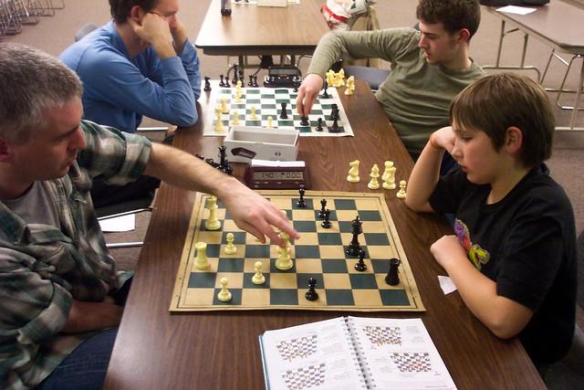 Quad chess players