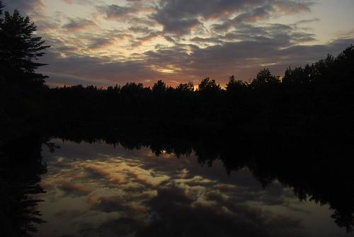 canada clouds kouchibougauc nationalpark newbrunswick reflection river sunset