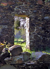 Doorway into the ruins