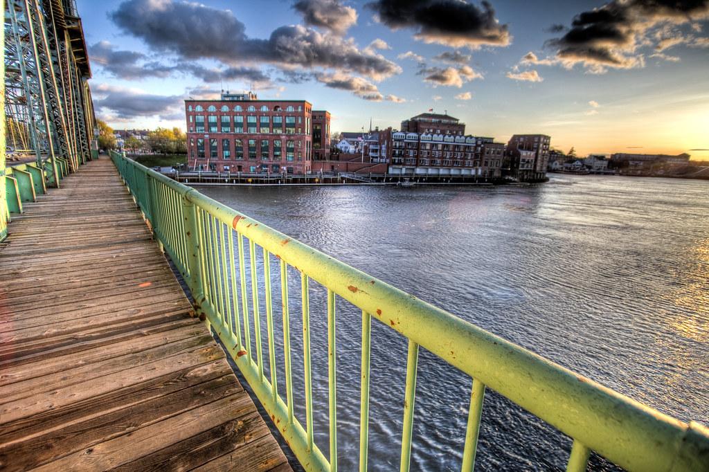 Harbor Place & The Memorial Bridge by Philip Case Cohen