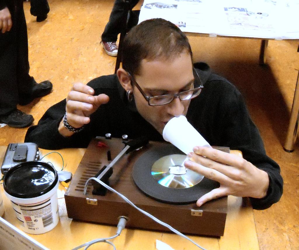Schallplattenherstellung