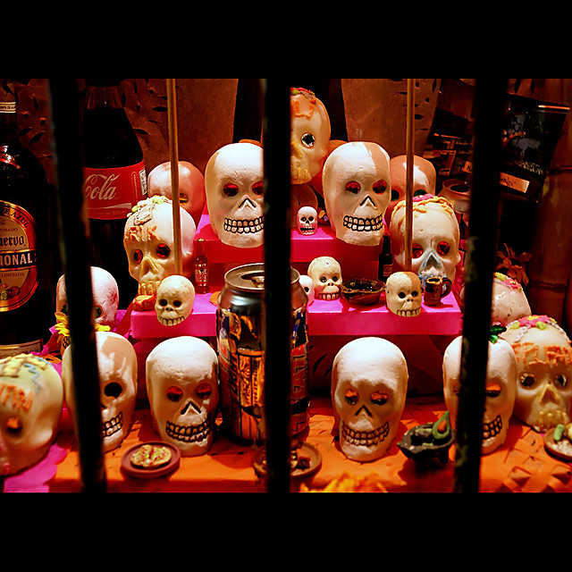 ... on the day of the dead ...